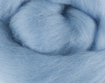 Superfine Merino Wool Roving, Color Sunrise