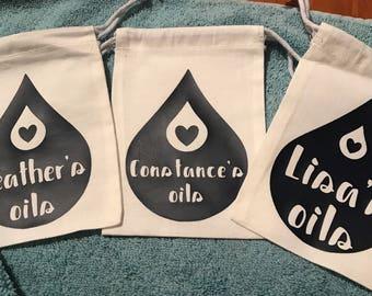 Customized Essential Oil Bag