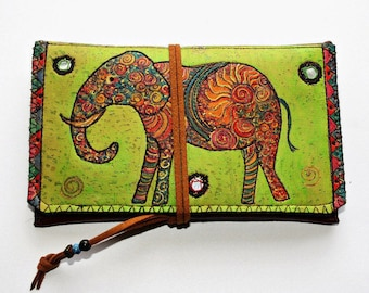 "Tobacco Bag ""Indian Elefant"""
