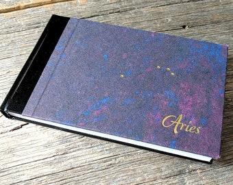 Aries Notebook - handbound journal