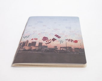 Embroidered City Notebook. Los Angeles, California