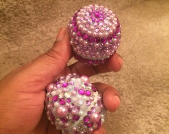 Design your Bling EOS Lip Balm with Stones/Pearls (Choose your color and/or flavor)