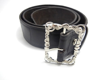 Brown leather belt,  genuine leather belt, womens leather belt,