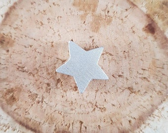 Pearl wood Silver Star