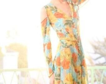 golden light dress