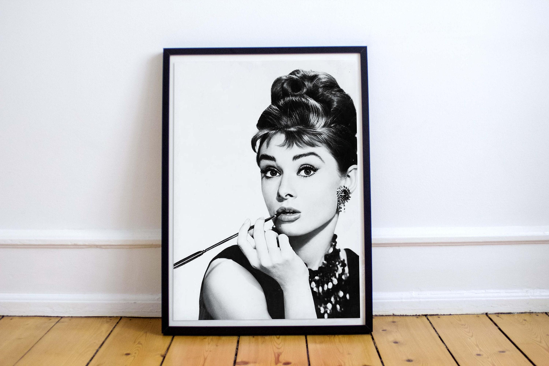Audrey Hepburn Audrey Hepburn poster Audrey Hepburn print