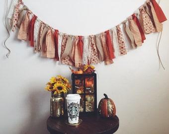 Fabric Fall Banner