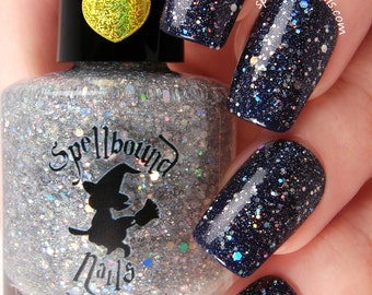 Here Comes The Smolder - Holographic Glitter Topper Nail Polish