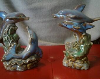 Dolphin Statuettes