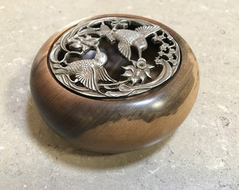 Pot Pourri Bowl Tasmanian Sassafras Timber Unique Handmade Gift