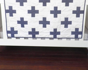 Baby Quilt - Cot Quilt - Baby Bedding - Nursery Bedding - Baby Shower - Baby Gift