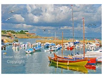 Photo Art of Bulloch Harbour, Dalkey, Co. Dublin