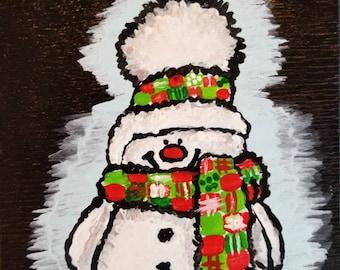 A Warm Snowman