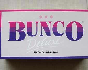 Bunco Deluxe Party Dice Game Talicor 1988