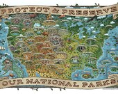 National Parks Map