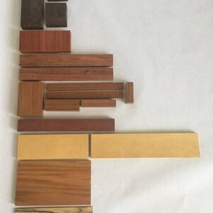 Lot#17 exotic wood scraps kiln dried