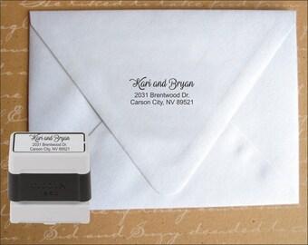 Address Stamp, Custom address, Monogram,  Housewarming gift, Rubber Stamp, Custom rubber stamp, Stamp, Wedding Gift,  Birthday Gift