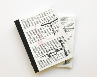 Corkscrew Journal Recycled Paper