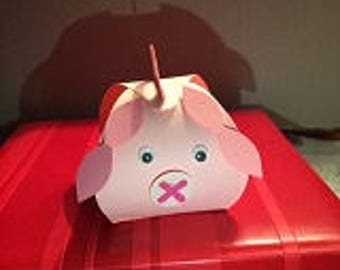 Party Animals Treat and Favor Box -50