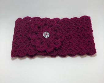 Crochet Ear warmer / Crochet headband / Ear Warmer / Handmade ear warmer / Headband / Adult / Teen