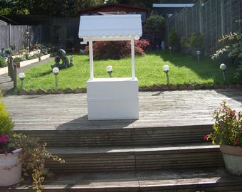 Wedding wishing well 80 cm high for sale free postage in the uk