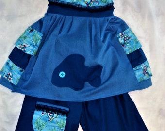 Two piece fish dress