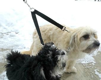 Dog Leash Divider, Leash Coupler, Tandem Dog Walker, Walk Two Dogs Together