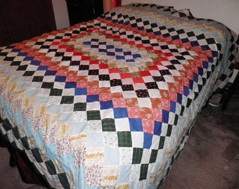 Extra Large Quilt Top