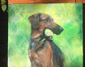 Custom Encaustic Painting - Your photo in encaustic on wood panel with oil paint.