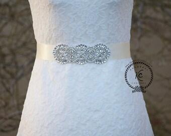 Wedding Belt, Rhinestone Sash, Bridal Sash Belt, Bridal Belt, Crystal Rhinestone Belt, Bridesmaid Sash Belt, Wedding Dress Sash