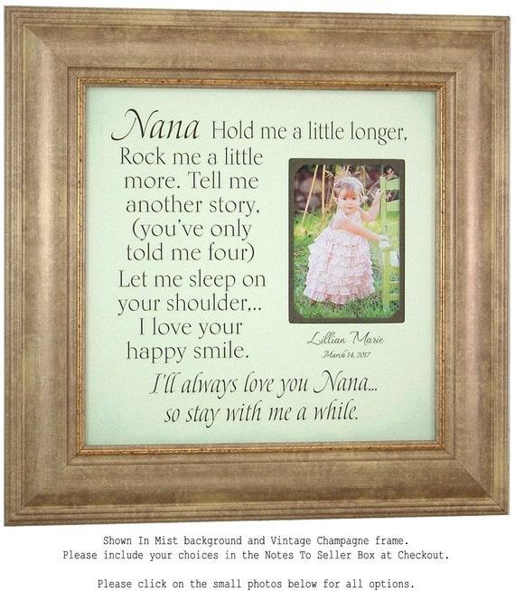 Nana Gift, Gift for Grandma, Grandmother gift from granddaughter ...