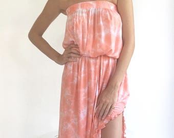 SALE - Summer / Dress / Strapless / Holiday