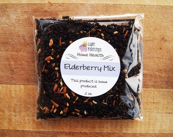 Elderberry Syrup Mix - DIY Elderberry Syrup Kit with Ginger & Cinnamon - for OHIO CUSTOMERS Only