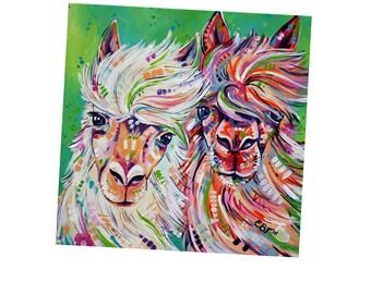 Alpaca Fridge Magnet, Llama Fridge Magnet, Alpaca, Lllama, Kitchen Decor, Small gift idea, Teacher gift