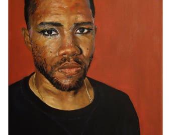 Portrait of Frank Ocean