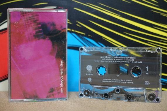Loveless by My Bloody Valentine Vintage Cassette Tape