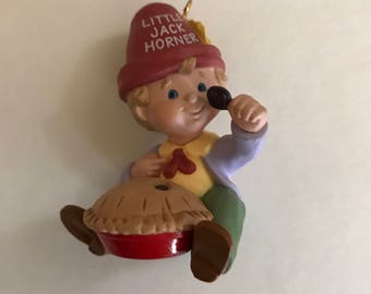 1988 Hallmark Keepsake Ornament - Little Jack Horner