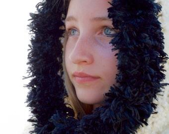 Women's Handmade Knit Hood