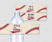 Baseball Baby Shower Wate...