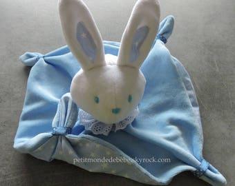 Blue Rabbit plush