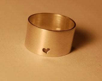 A little bit of love Sterling Silver Heart Ring