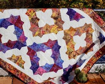 Dea's Dream - size: 62 in. x 86 in. - quilt pattern