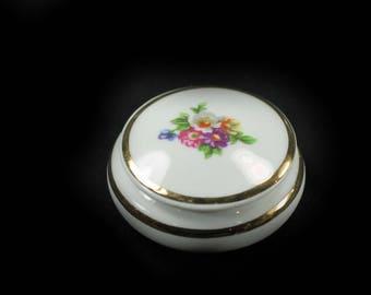Small Limoges Trinket Box or Ring Box