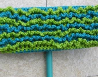 Blue Swiffer Cloth - Blue Floor Dusting Cloth - Green Swiffer Cloth - Green Floor Dusting Cloth - Reusable Swiffer - Washable Swiffer