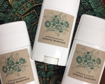 CITRUS BLEND - All NATURAL Deodorant ~ Toxin Free Organic Deodorant ~ Aluminum Free