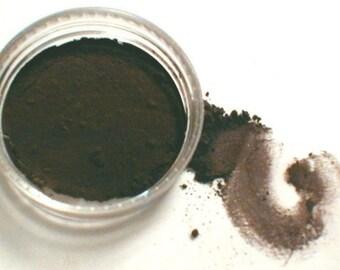 Vegan Eyeliner Eye Shadow Kettle  Darkest Brown Black Matte