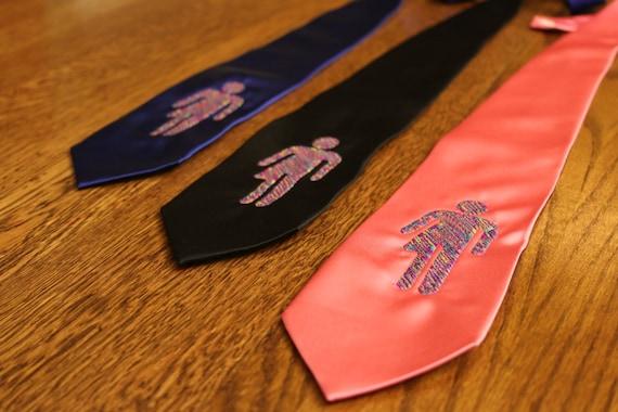 Nobathroombill Tie (trans, lgbt, lgbtq, lgbtqa, trans community, transsexuality, transsexual, tie, no bathroom bill, bathroom bill, necktie)