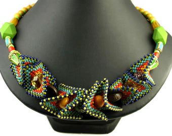 SOLD OUT One of a Kind African Summer #1 Necklace
