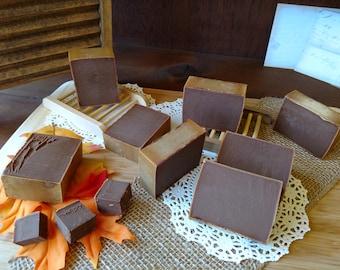 Orange Chocolate Soap Bar