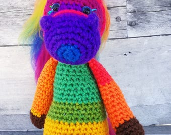 Cheyanne Pony Snuggle, Stuffed Animal